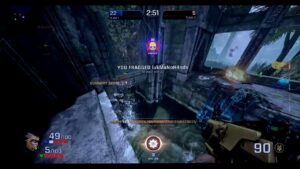 Quake Champions Hack with Aimbot and Wallhack ESP