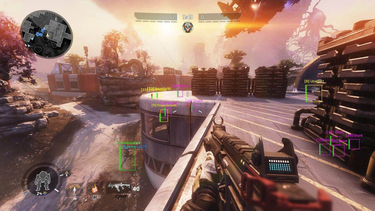 Titanfall 2 Hacks | Undetected Aimbot & ESP Wallhack 2021 - Titanfall 2 has two gameplay, unlike its previous version. This First Person Shooter has Single-player gameplay as well as Multiplayer gameplay. We elaborate on the hack's compatibility with the two gameplay below. - Free Cheats for Games